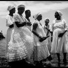 Celebración de Iemanjá que rinde culto a la diosa del mar.