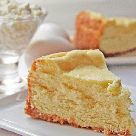 lostrecipesfound.com  'dry' cheesecake recipe --- sounds similar to what I remember enjoying with my dad @ the F.W. Woolworth's lunch counter ( 50 yrs ago)