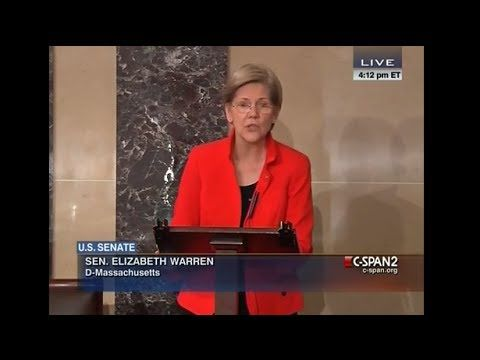 Elizabeth Warren Standing Strong for Social Security. Awesome!!