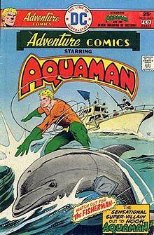 Aquaman, a founding member of the #JusticeLeague