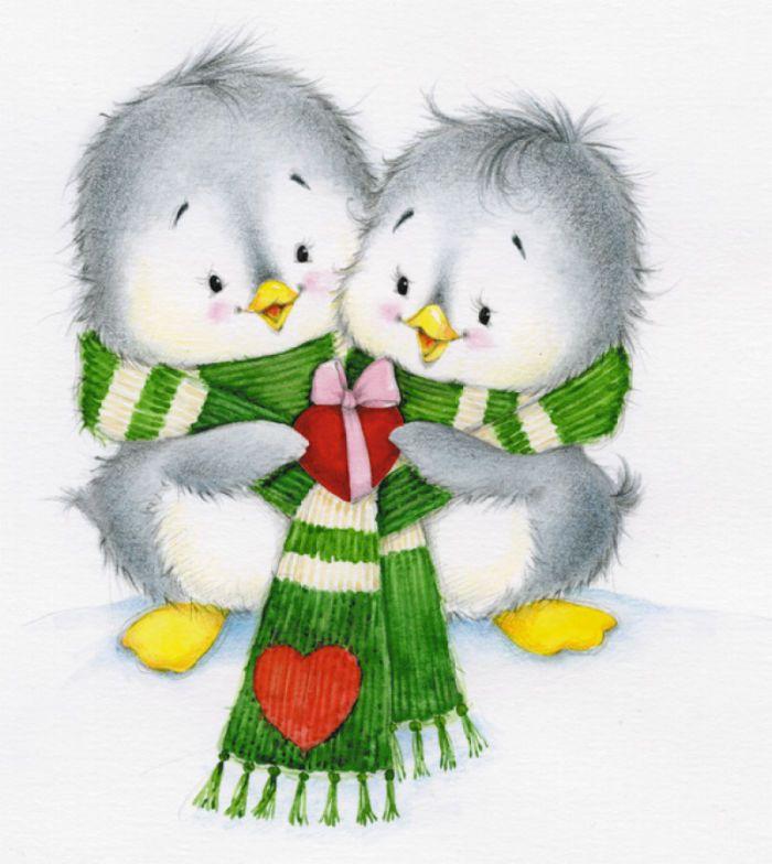 Marina Fedotova - penguins