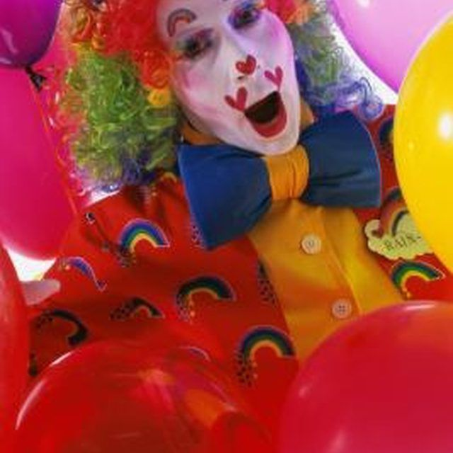 Include clown images in your circus decor.