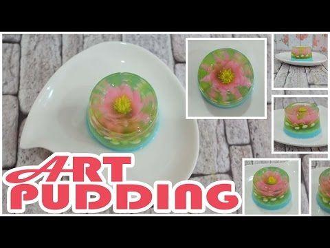 Art Pudding Bahan Dasar Jelly
