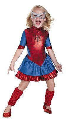 Child-Size-4-6X-Deluxe-Spidergirl-Costume-Spiderman-Costumes