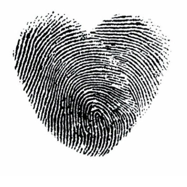 Gallery For > Fingerprint Heart Tattoo