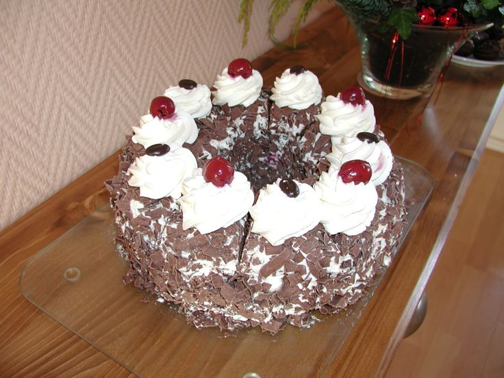 German Black forest Cake is the queen among all German cakes and can be found all over in Germany. The bake the cake you need some baking experience.