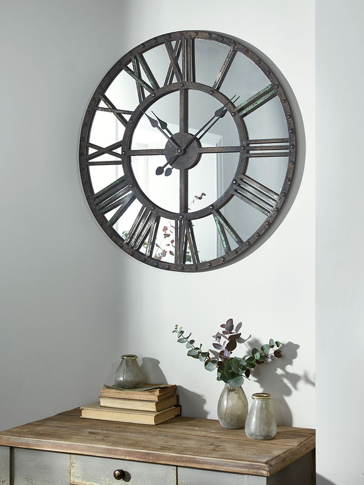 Best 25 Mirror Wall Clock Ideas On Pinterest