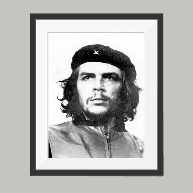Che Guevara poster, leuke poster om bijvoorbeeld op te hangen in de woonkamer. Goedkoop de leukste posters in verschillende materialen.