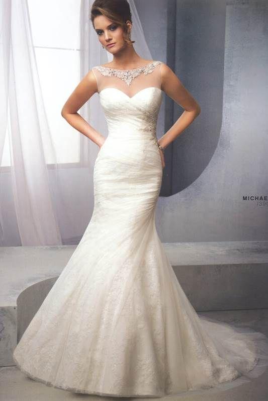 56 best Vestidos de novia images on Pinterest | Wedding frocks ...
