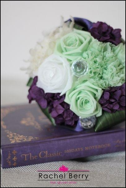 made to order mini bouquet  花嫁の目に留まったブーケ|Rachel Berry the Secret Attic