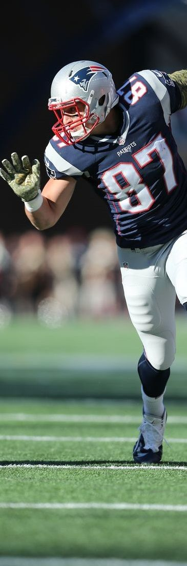 Rob Gronkowski. Top Patriots. SUMMARY Career G 88 AV 63 Rec 405 Yds 6095 Y/R 15.0 TD 68 FantPt 1020.7 #NFl #gronk #patriots