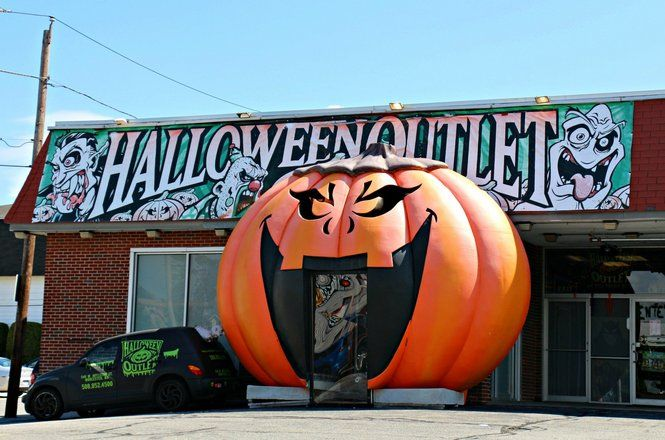 Though the Halloween Outlet will soon have new owners, the West Boylston Street…