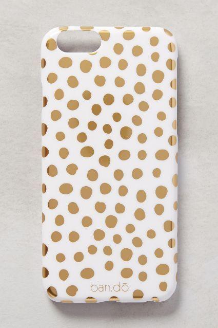 Foil-Dot iPhone 6 Case - anthropologie.com