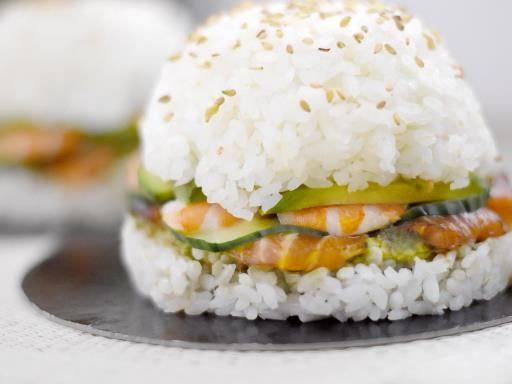 Burger bun de riz : Recette de Burger bun de riz - Marmiton