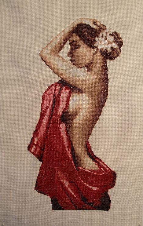Gallery.ru / donna di schiena - donne - Fantasy3