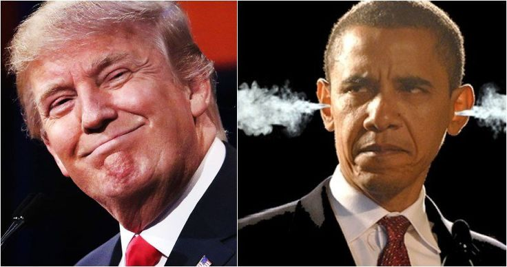 Trump Just Slapped Obama In The Face, First Official Action Pisses Him Off