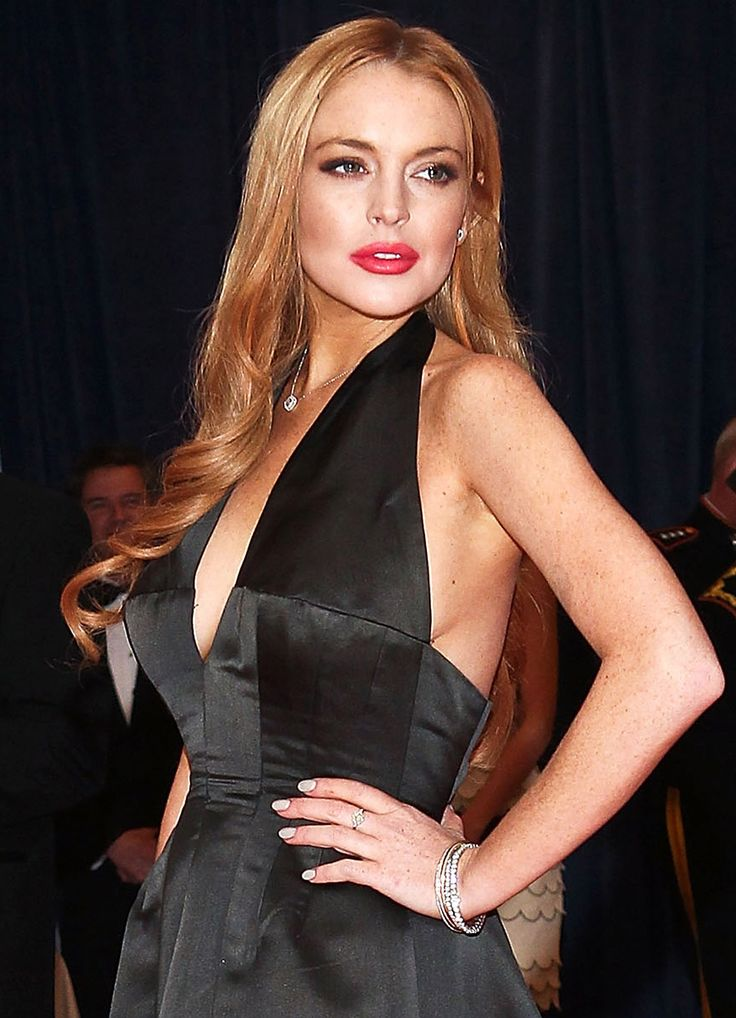 Lindsay Lohan's Hair Evolution: Red 2012 - 2012