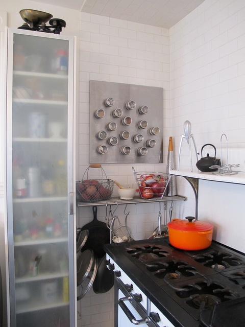 Remove The Middle Shelf Of Current Pan Shelf N Hang Pots