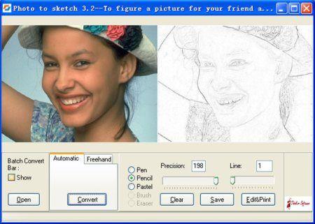 Cómo convertir fotos en dibujos
