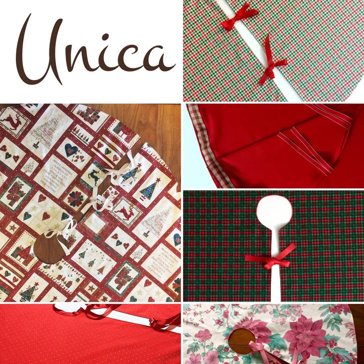 Handmade Christmas tree skirts to decorate your home in style!