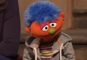 """Sesame Street"" has introduced a new muppet named Alex as a way to talk about the stigma of having a parent in jail."