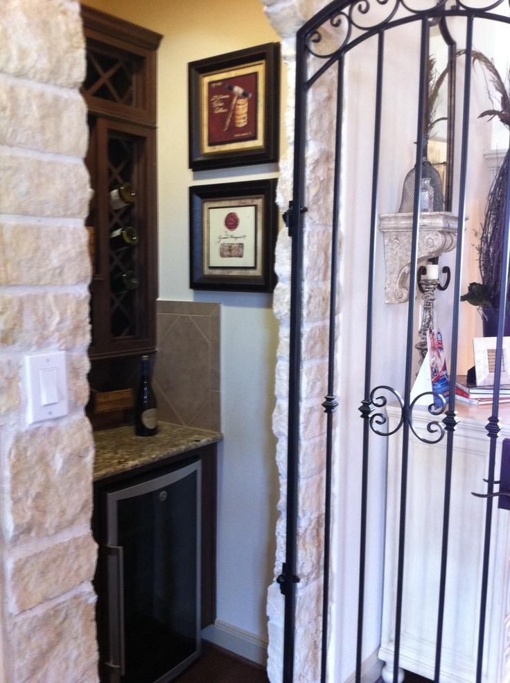 Coat closet wine bar 1 home ideas i love pinterest for Dining room closet ideas