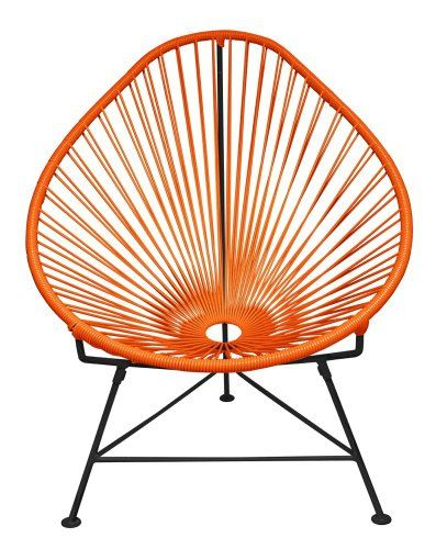 Special Offers - Innit Designs Acapulco Chair Orange Weave on Black Frame - In stock & Free Shipping. You can save more money! Check It (June 06 2016 at 07:31PM) >> http://gardenbenchusa.net/innit-designs-acapulco-chair-orange-weave-on-black-frame/