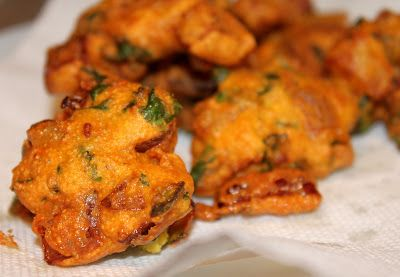 Onion Fritters - Kanda Bhaji/Pakora Simple pleasures | Vegan Richa