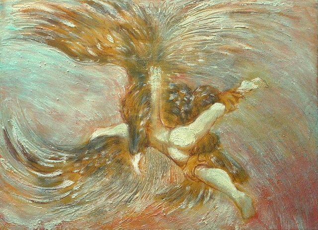 NORI USHIJIMA Abduction of Ganymede, 2008 | Zeus and ...