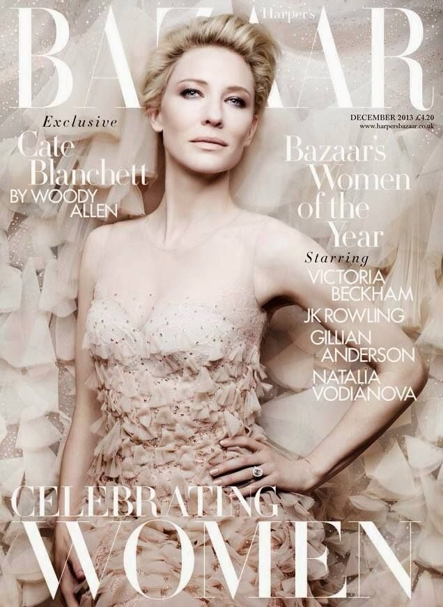 The most beautiful cover I've ever seen.. #Harper's #Bazaar #Cate #Blanchett