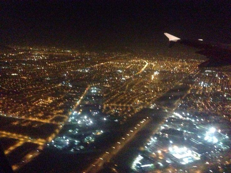 Santiago de Chile Desde el cielo...