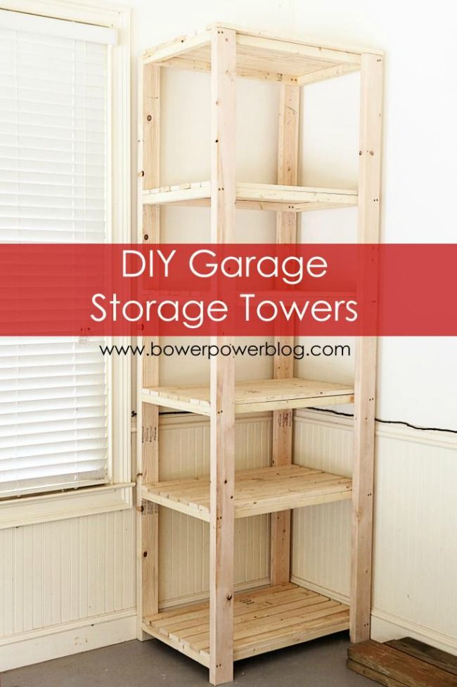 From Storage Totes To Towers Here Are The 11 Best Diy Garage Organization Ideas Help You Tackle Task