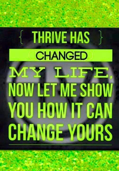 Are you drinking coffee/soda to stay awake, be productive?   Do you spend money on supplements, weight loss products?  Thrive can change your life, it all starts with you!  Start your Thrive experience today!  http://ladyspawn.le-vel.com/