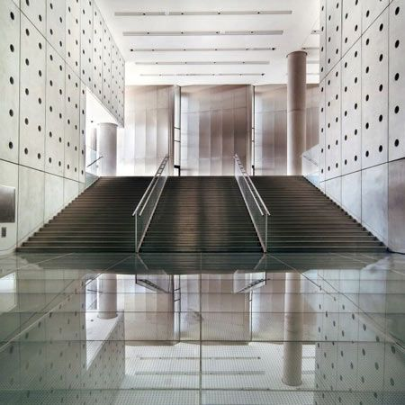 New Acropolis Museum in Athens, Greece, designed by Bernard Tschumi Architects