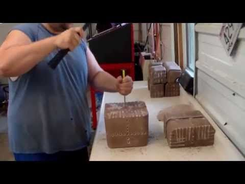 Making $.81 Mineral salt blocks, Save $55 total. - YouTube