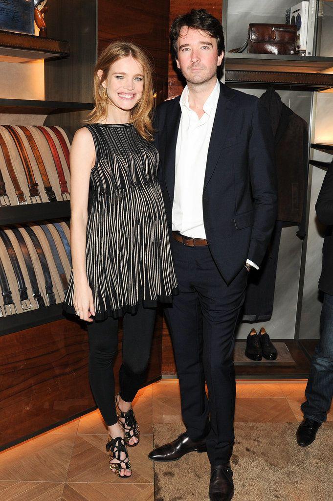 Natalia Vodianova and Antoine Arnault at Berluti's Madison Avenue store opening.