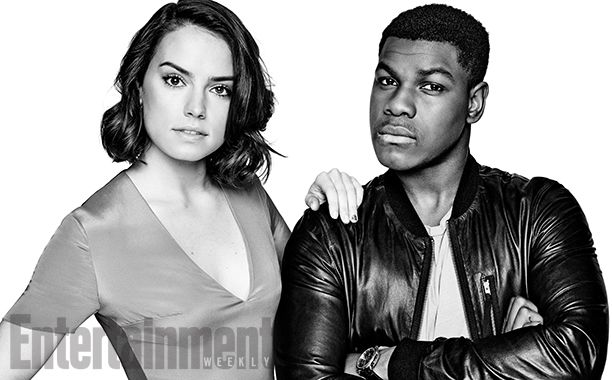 Daisy Ridley and John Boyega are twins. Basically.  Both are 23, born only three weeks apart (he's older). They are both youngest children, and both hail from the same city --although he's from South London, she's from West London, and they both insist those neighborhoods may as well be on different planets from each other. Both longed to act from a young age, and both ended up as the new leads of Star Wars: The Force Awakens.