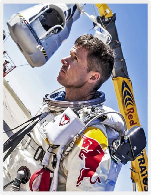 Red Bull Stratos Felix Baumgartner Space Jump Live Stream Video