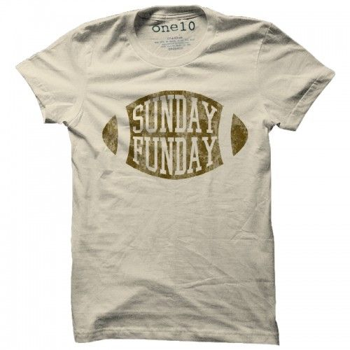 Sunday Funday T-Shirt - love this!