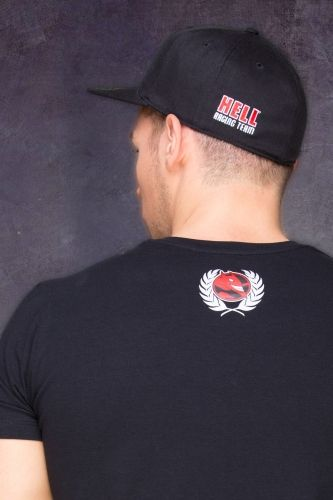HRT Trend Men T-shirt Back in Black