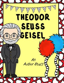 Dr. Seuss' birthday is coming up, and we've got the perfect author study for your Kindergarten to 2nd grade classroom! This author study includes the following:- Brief Biography- Reading Comprehension- Fact or Opinion- Bubble Map Fill-In- Author Timeline- Interactive Journal- All About the Author Fill-In- 2 types of Book Reports- 6 Essay prompts (with two levels of differentiation and line spacing)- 4 Free-Draw Art promptsWant more author studies?