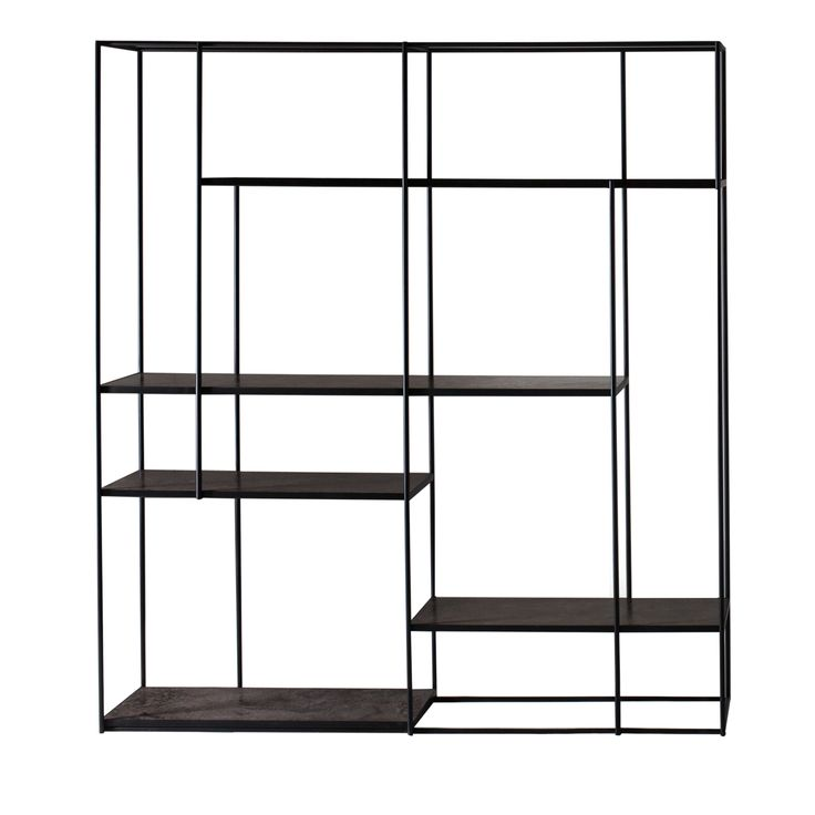 HILL Steel Shelves Bookcase - Shop Studiopepe by Ivano Redaelli online at Artemest