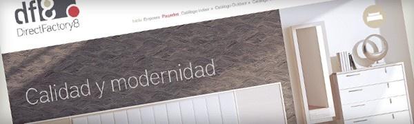 Diseñamos la web para la empresa Direct Factory 8 que lleva más de 30 años dedicada a la comercialización de mobiliario.  Necesitaban una web muy visual donde las imágenes fuesen las protagonistas, por eso en el diseño de su sitio web lo enfocamos con ese objetivo incluyendo el mínimo texto posible y con imágenes de gran calidad  - See more at: http://www.ixotype.com/portfolio/visual-identity/web/diseno-web-direct-factory-8/#sthash.eENlQxPL.dpuf