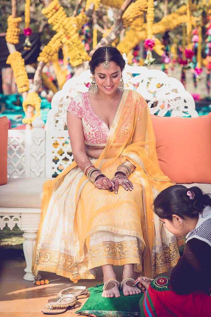 Colourful Traditional Palace Wedding In Udaipur | Tarisha & Dev