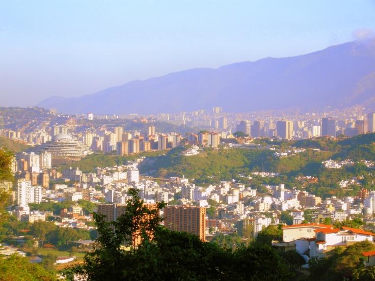 Vista desde Colinas de Santa Monica. Caracas. Venezuela