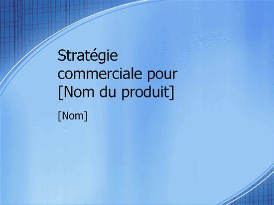 Présentation d'un plan marketing