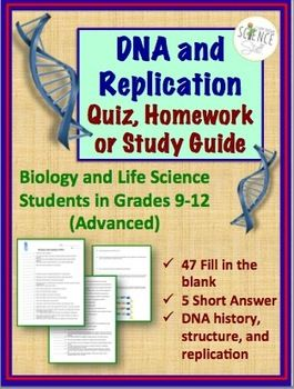 Homework help dna