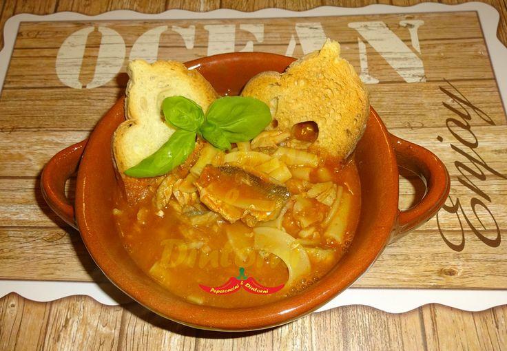 Miscuglio di pasta al pesce da zuppa e Habanero, oggi vi presento un piatto molto gustoso che vi permette di utilizzare quei rimasugli di pasta, che di solito vanno a finire nella spazzatura,