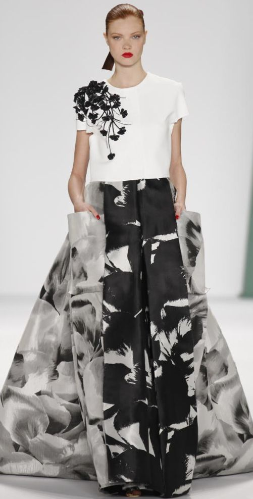 NEW YORK Spring/Summer 2015 CAROLINA HERRERA
