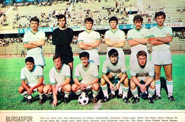 OĞUZ TOPOĞLU : 1970 bursaspor futbol takımı kadro posteri